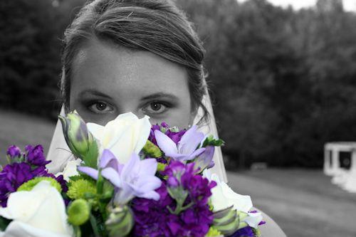 Bride at Cavender Castle Wedding Venue
