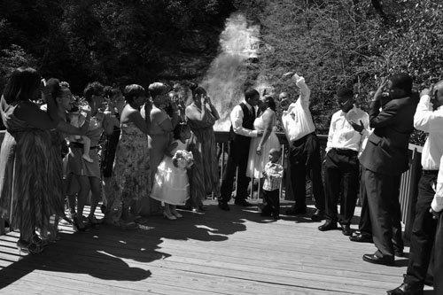 Helton Creek Falls Ceremony Site
