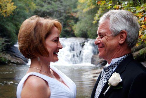 Waterfall Wedding alternative to Wedding Chapels in Georgia