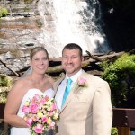 Ana Ruby Falls Waterfall Wedding site