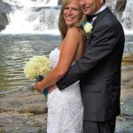 Dick's Creek Waterfall Wedding site